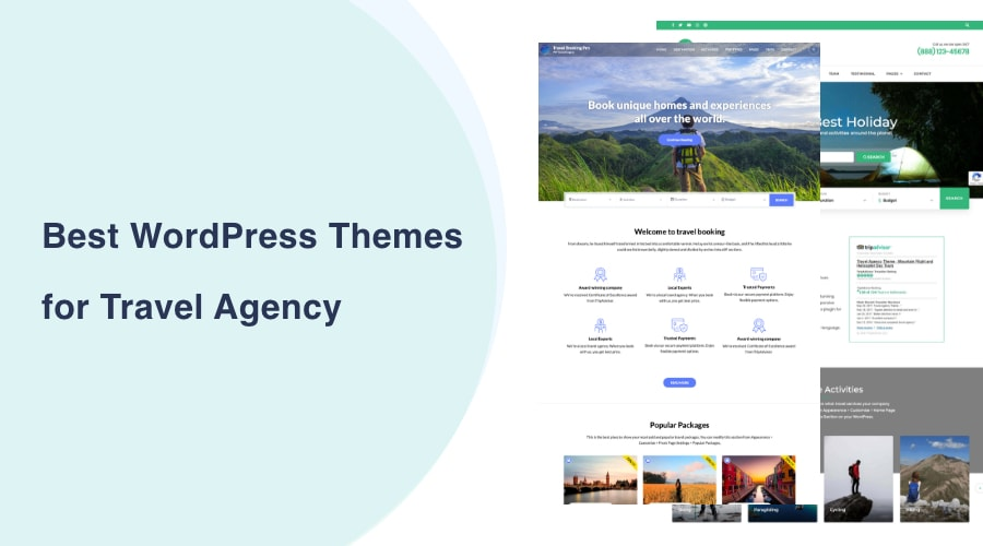 Best WordPress Themes for Travel Agency