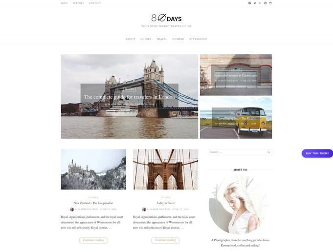 EightDays WordPress Theme
