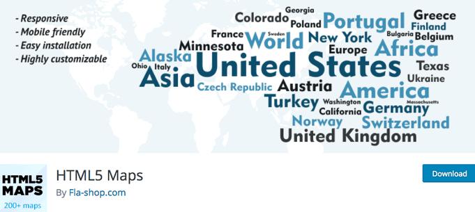 HTML5 Maps WordPress Plugin