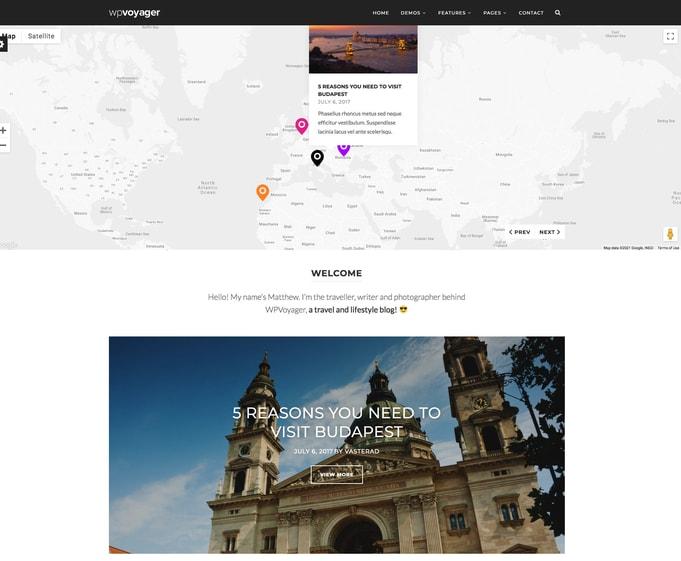 WPVoyager WordPress Theme
