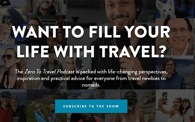Make money from travel blog - Subscriptions