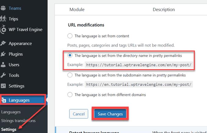 polylang url modifications