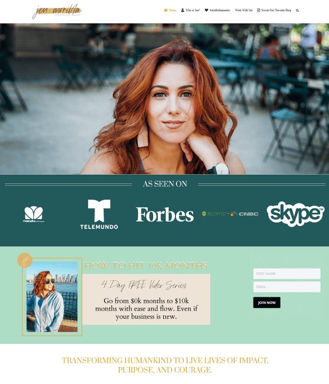 Jen Morilla - The Social Girl Traveler