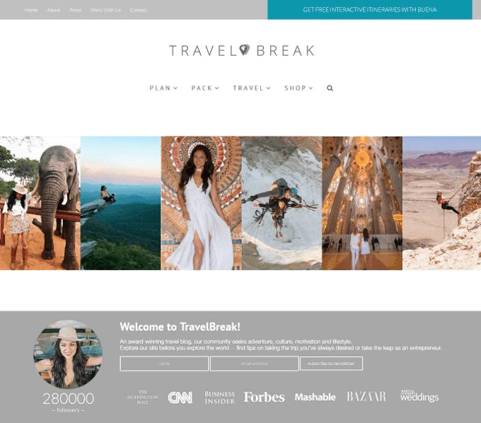Stephanie Be - Travel Break