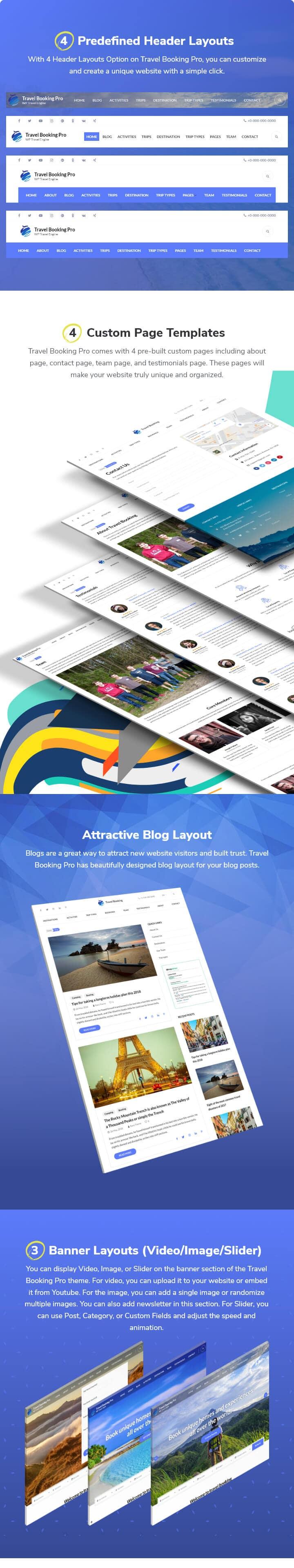 Travel Booking Pro WordPress Theme: WP Travel Engine