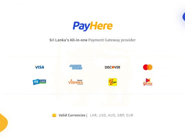 PayHere payment gateway