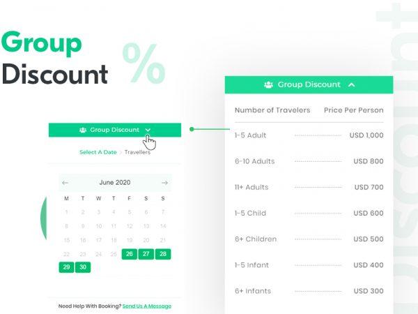 group discount scheme